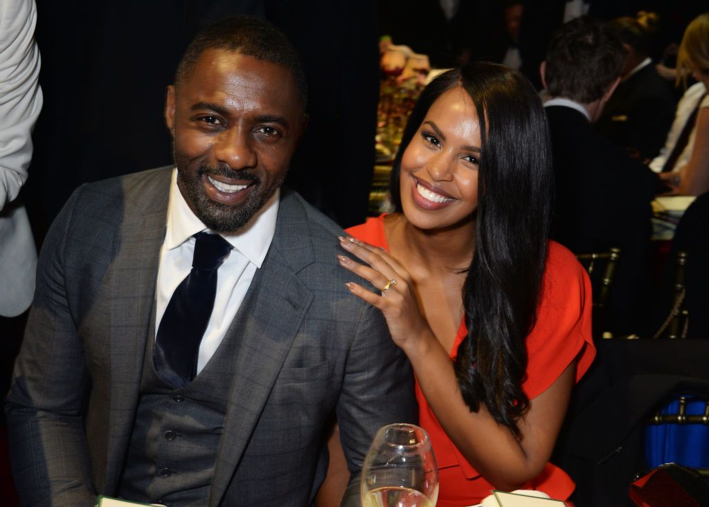 Idris Elba és Sabrina Dhowre - Fotó: Getty Images