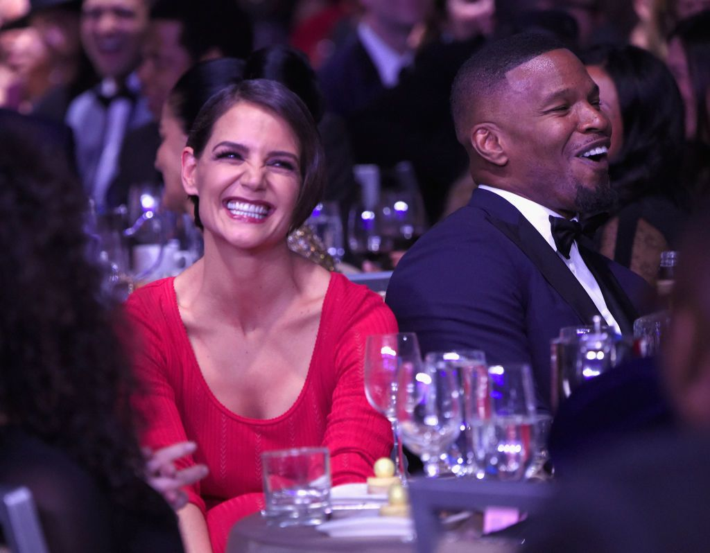 Katie Holmes és Jamie Foxx - Fotó: Getty Images