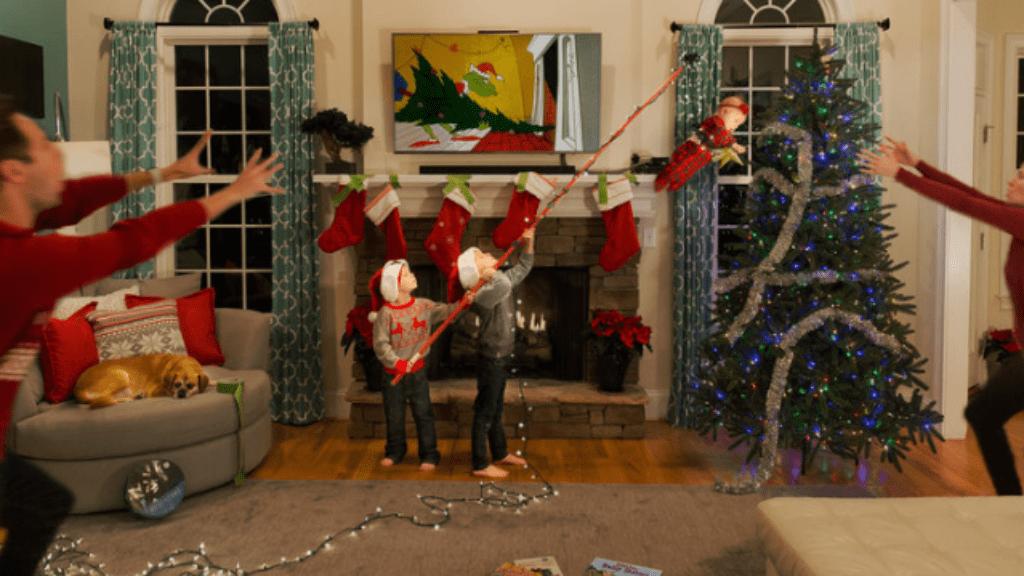 karácsony képeslap vicces