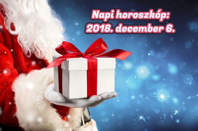 napi horoszkóp 2018. december 6.