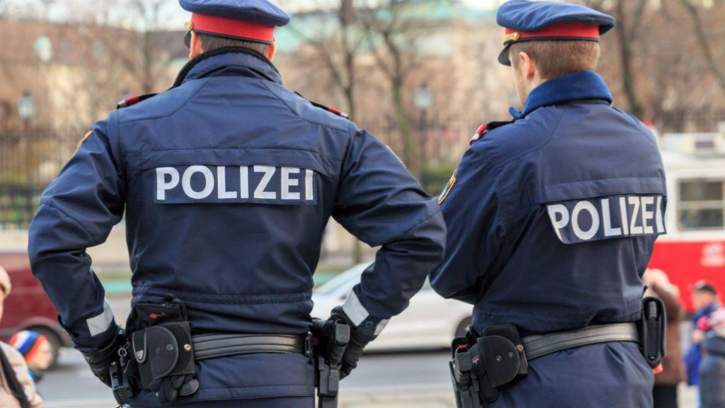 osztrák rendőrség