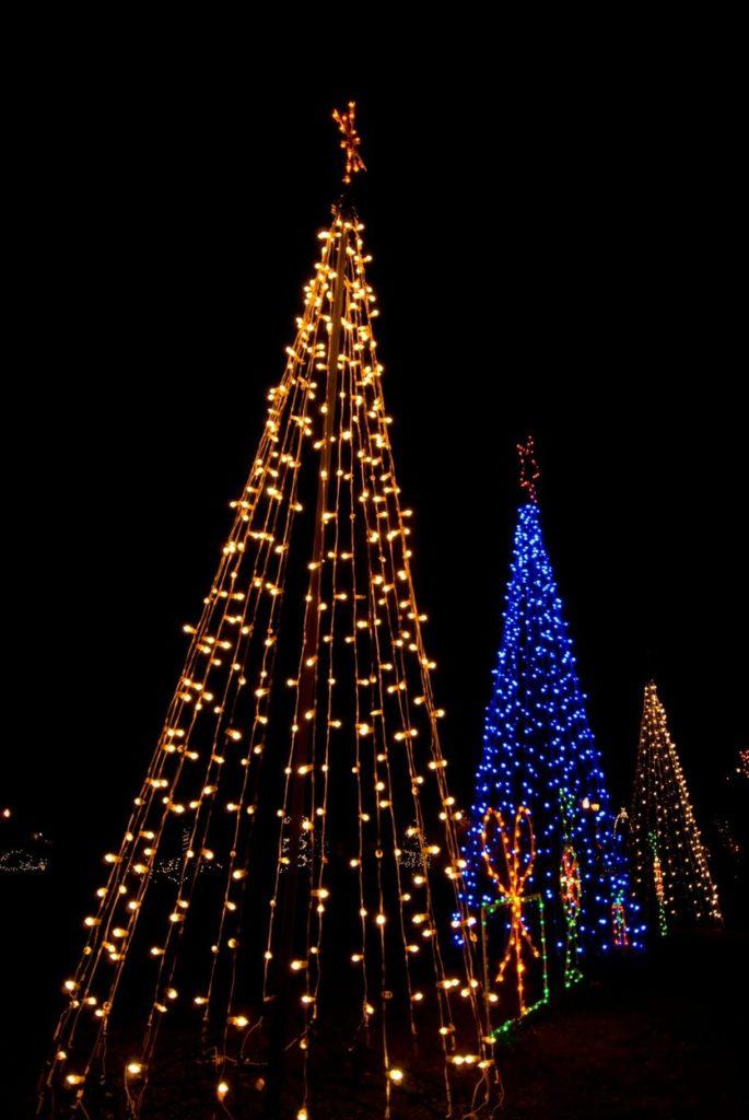 Karácsonyfa égősor