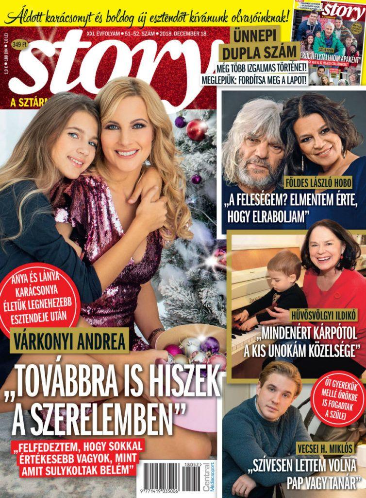 Andrea Várkonyi concedió una entrevista exclusiva a Story en Navidad 2018
