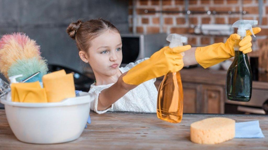 takarítás gyerek tini