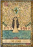 tarot kártya jóslás csillag