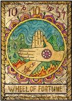 tarot kártya jóslás szerencsekerék