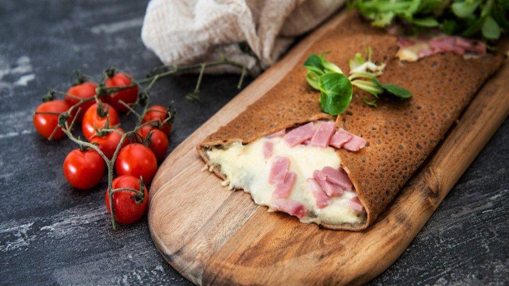 Isteni reggeli: gluténmentes palacsinta francia módra