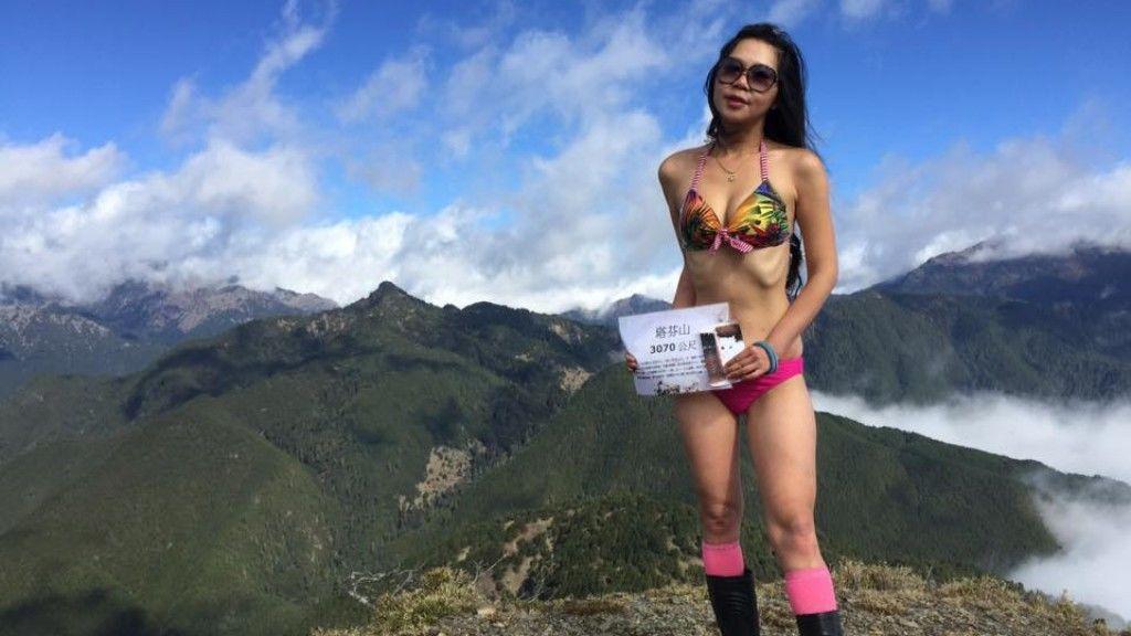 Halálra fagyott a túrázó lány, aki bikiniben posztolt a hegycsúcsokról