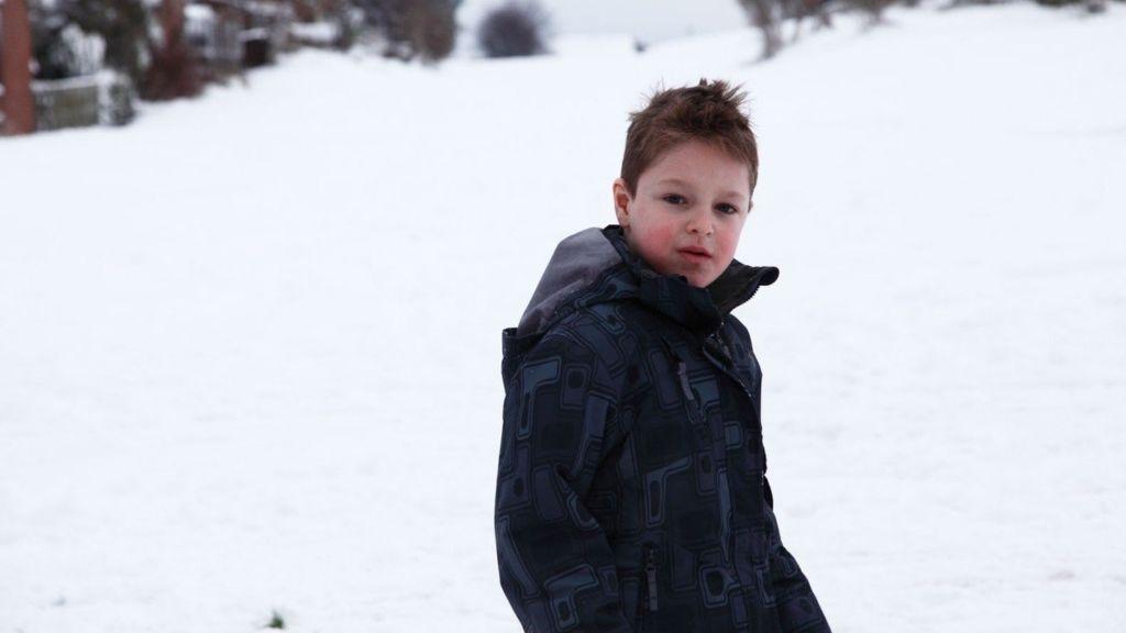 gyerek öltöztetés fázás