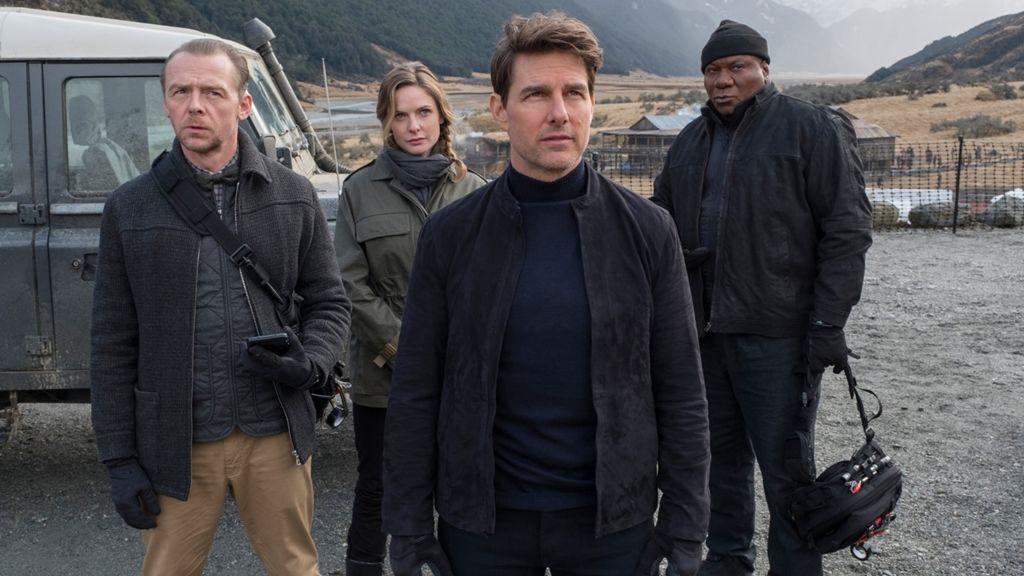 Tom Cruise és kollégái a Mission Impossible egy korábbi részében (Fotó: UIP-Duna Film)