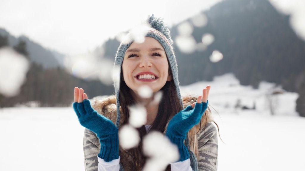 tél, boldogság