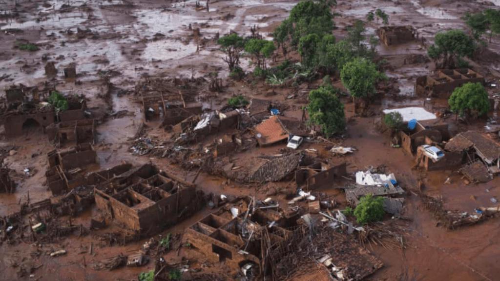 brazilia iszapkatasztrófa gátszakadás