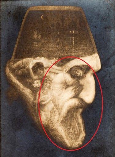személyiségteszt kép festmény részlet
