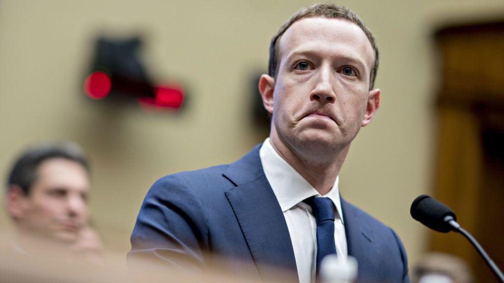 Mark Zuckerberg, a Facebook alapítója (Fotó: Getty Images)