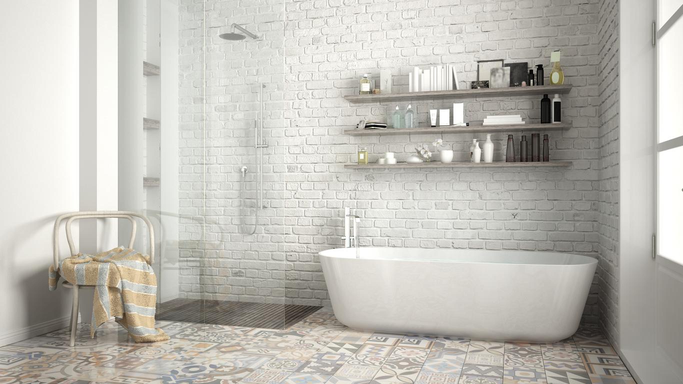 fürdőszoba, szék, fotel, vintage