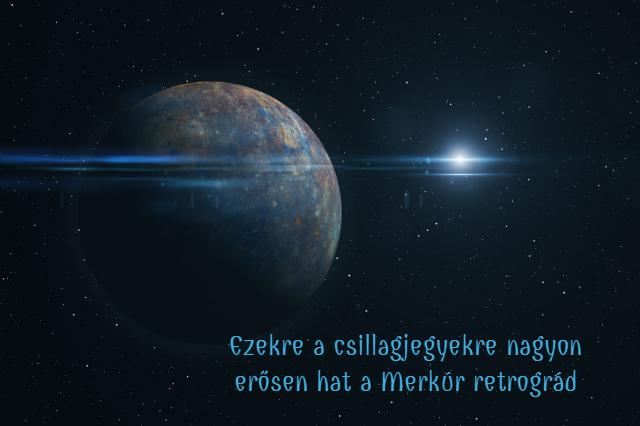 retrográd Merkúr bolygó csillagjegyek horoszkóp