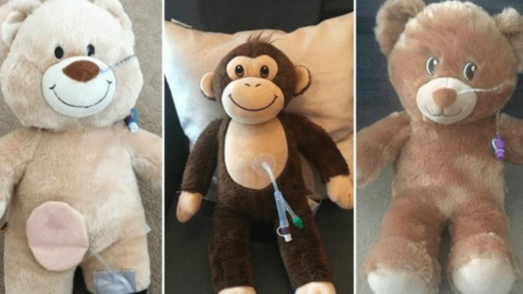 orvosi cső gyerek kismackó gyógyulás