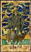 tarot jóslat február halál arkánum