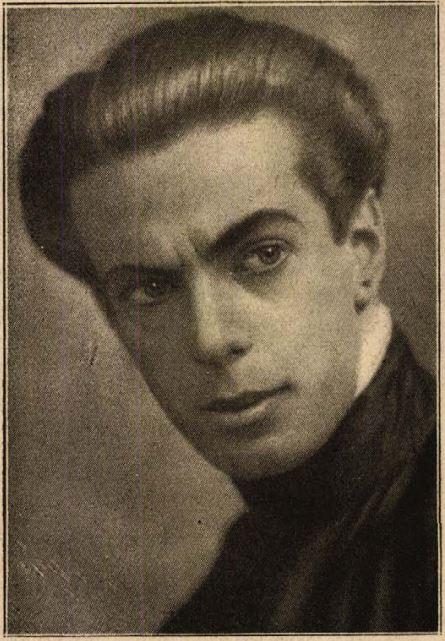 Funk Pál Angelo portréja 1918-ból