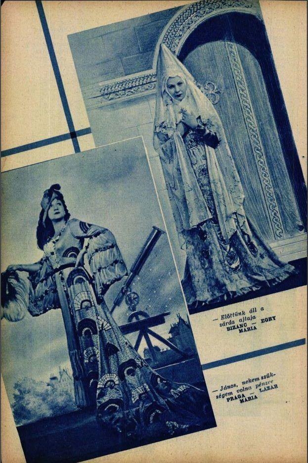 Egry Mária, Lázár Mária