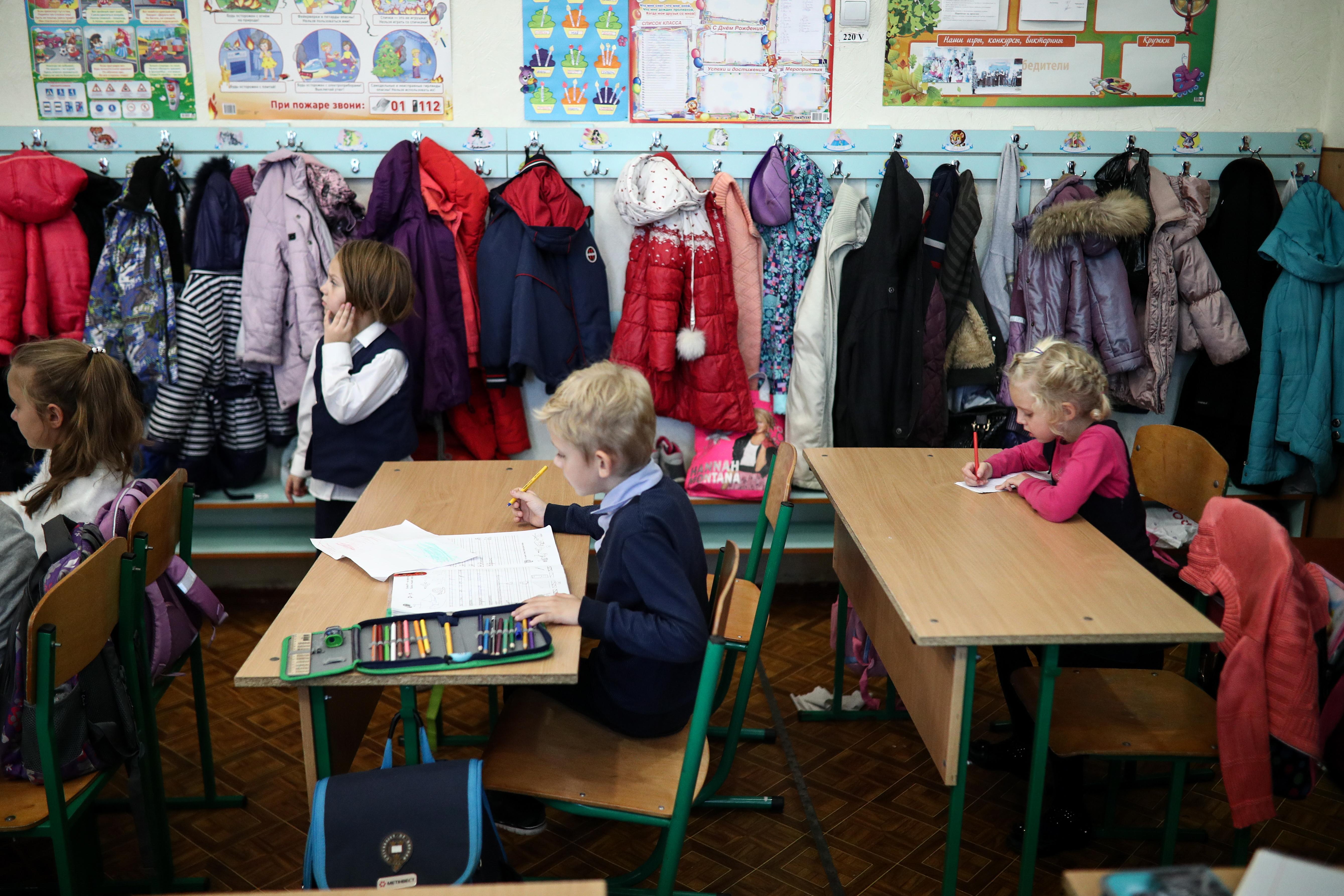 iskola, gyerekek - Fotó: Getty Images