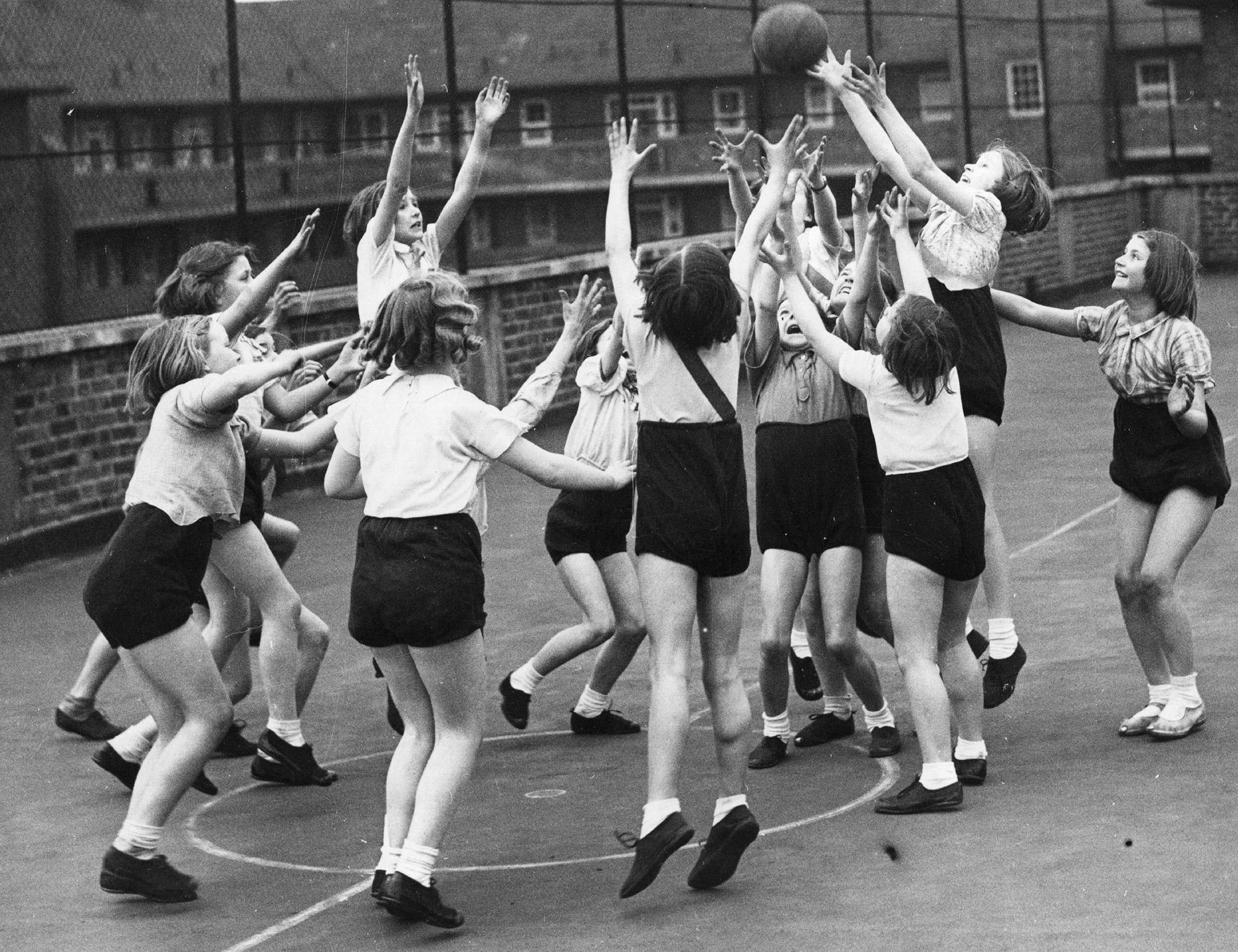 kosárlabdázó kislányok - Fotó: Getty Images