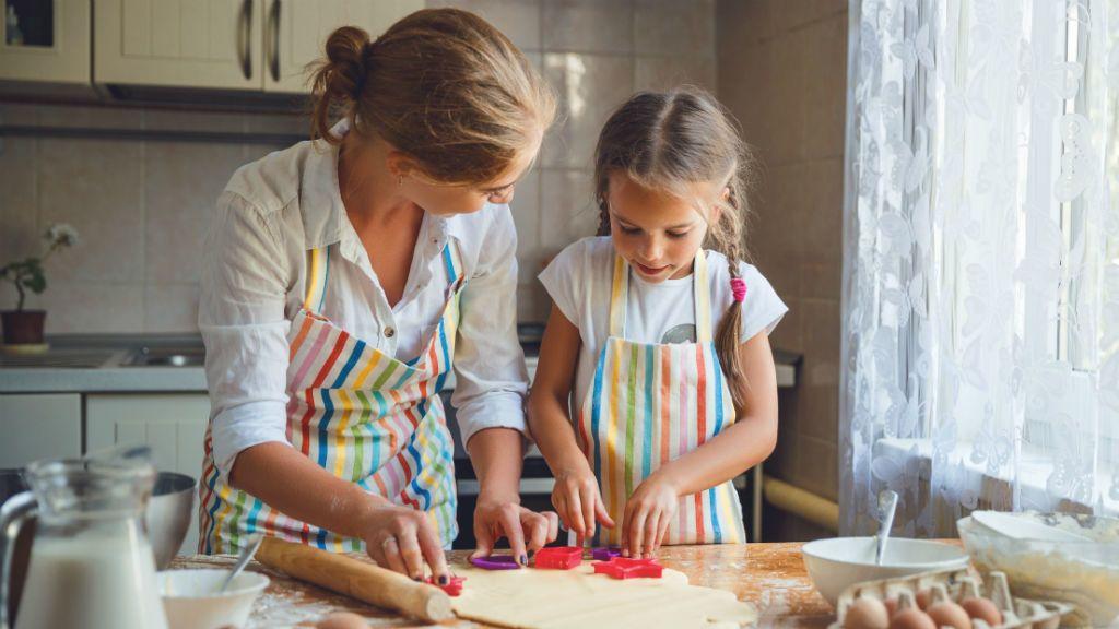 főzés, gyerek