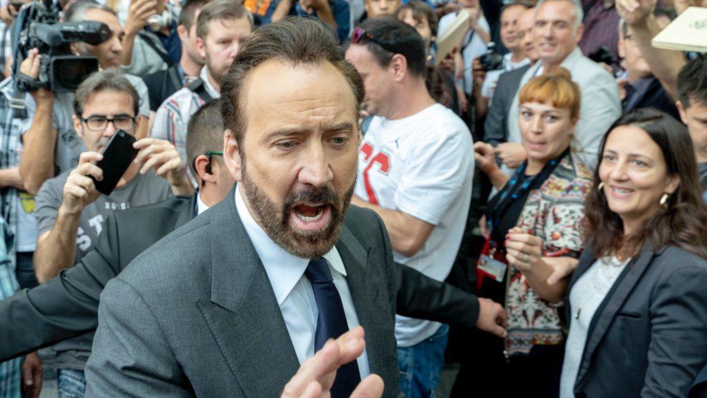 Nicolas Cage a 2018-as sitgesi filmfesztiválon (fotó: Robert Marquardt/Getty Images)
