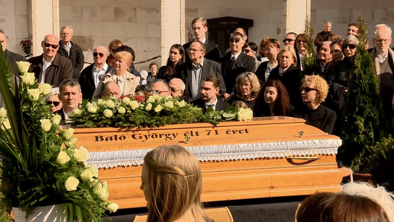 baló györgy temetés farkasréti temető