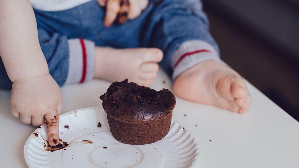 Baba, muffin, uzsonna, válogatós gyerek