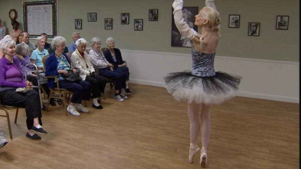 balerina szenvedély tánc kor