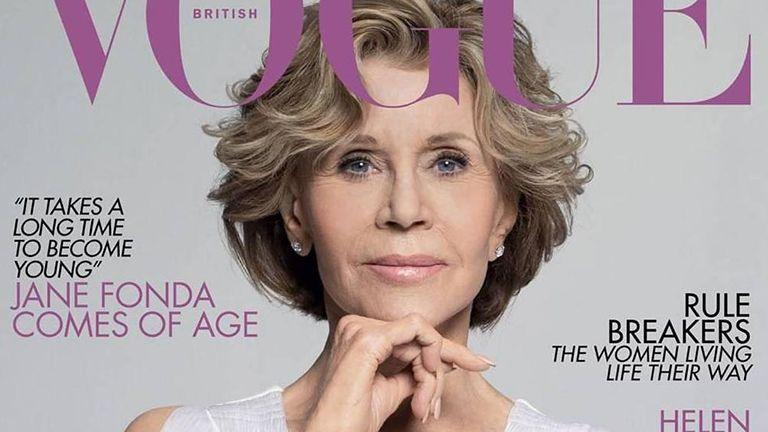 07fe53b764 A 81 éves Jane Fonda lesz a brit Vogue májusi számának címlapján – írja a  Yahoo Lifestyle. A világ leghíresebb divatmagazinjának a L'Oréal Paris-val  közösen ...