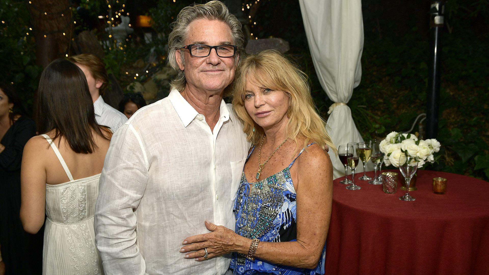 Goldie Hawn és Kurt Russell