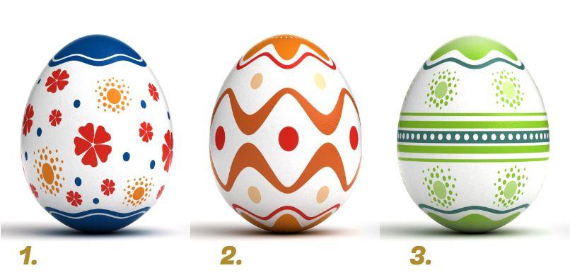 húsvéti tojás teszt jóslat
