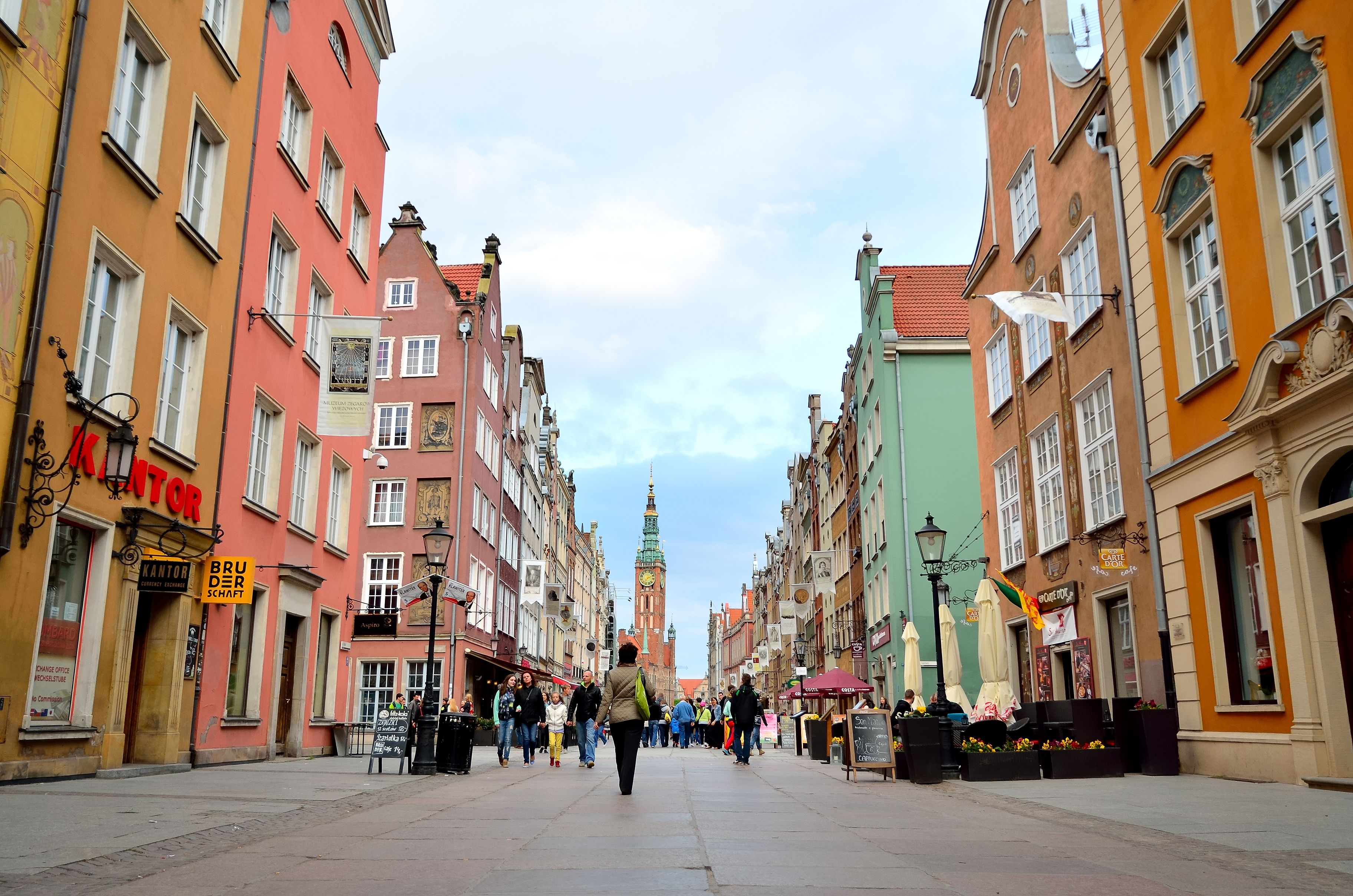 Dluga utca - fotó: istockphoto