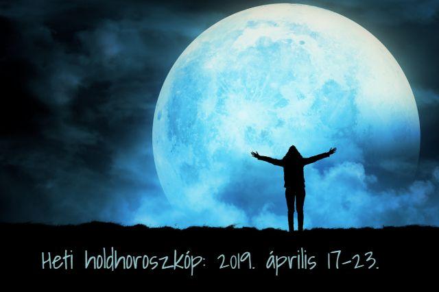 heti holdhoroszkóp 2019. április 17-23.