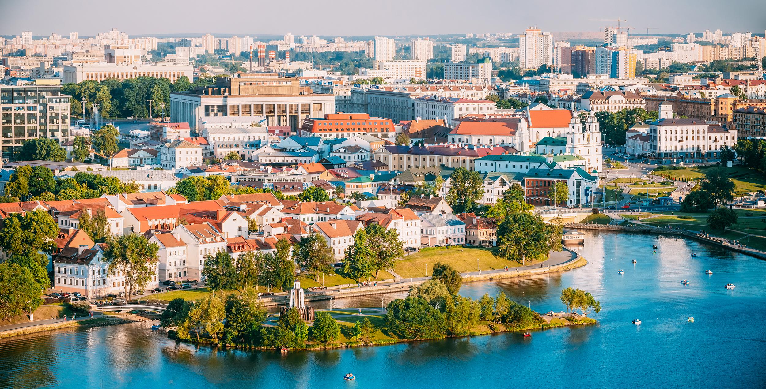 Minszk nyáron - fotó: istockphoto
