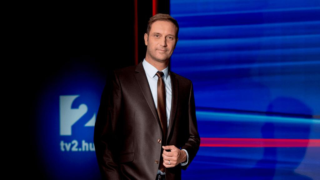 Szebeni István műsorvezető híradós TV2 Tények