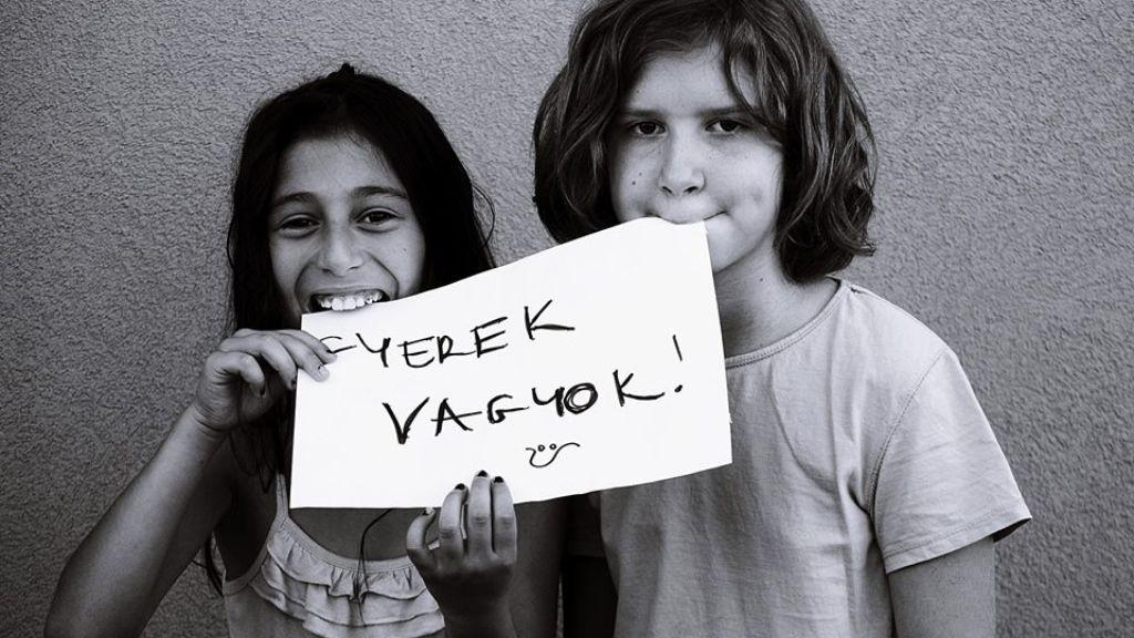 roma gyerek kirekesztés fotók