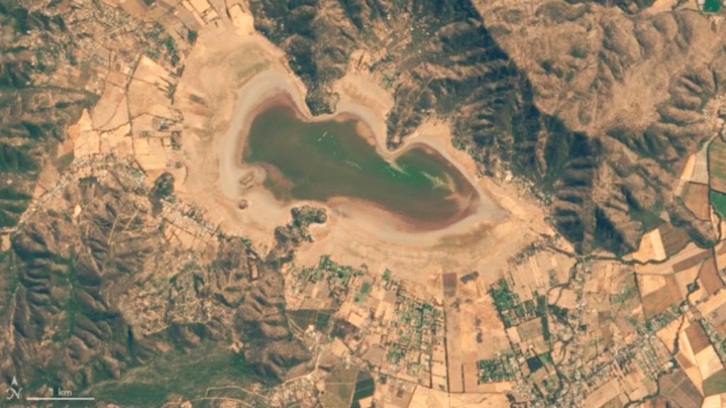 chile tó kiszárad
