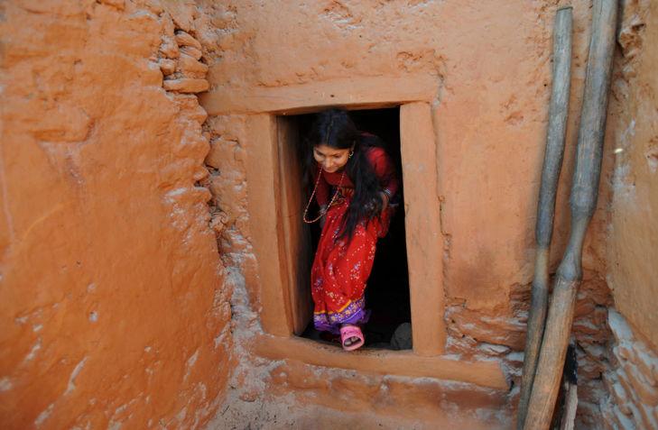 A nepáli Chandrakalban a nőknek a településtől távolabb eső kalyibákban kell átvészelniük a menstruációt (Fotó: womanintheworld)