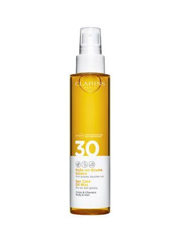 Clarins Sun Care Body & Hair Oil Mist (SPF 30)