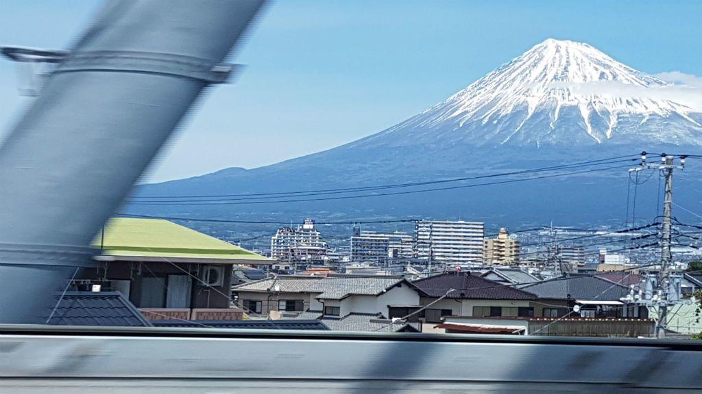 fudzsiszán japán sinkanszen