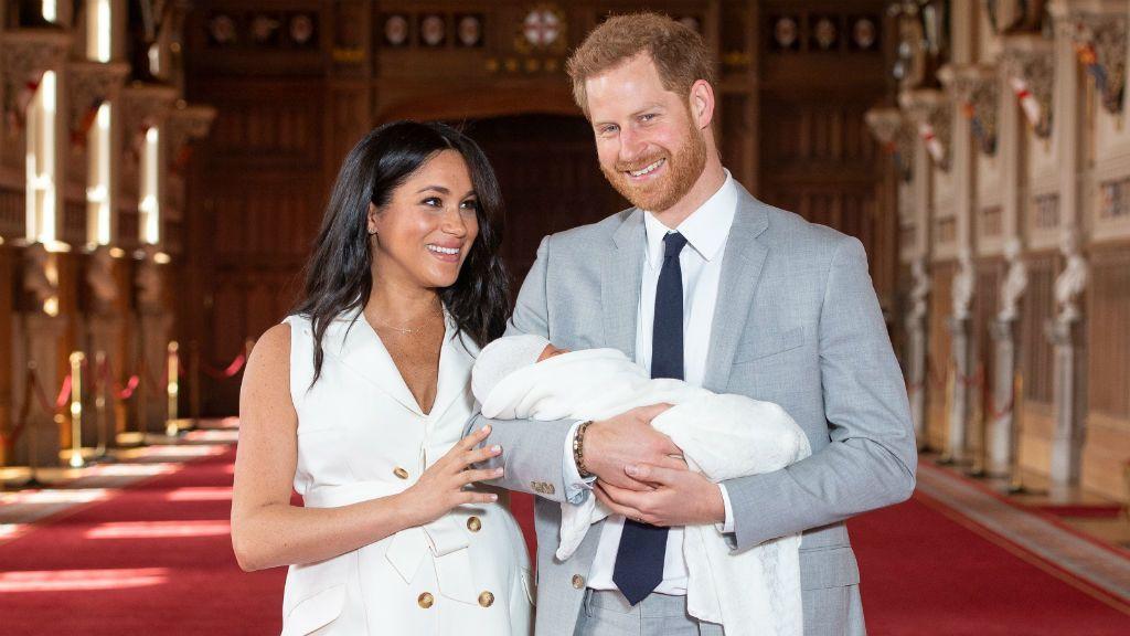 Meghan hercegné, Harry herceg és a kis Archie Harrison