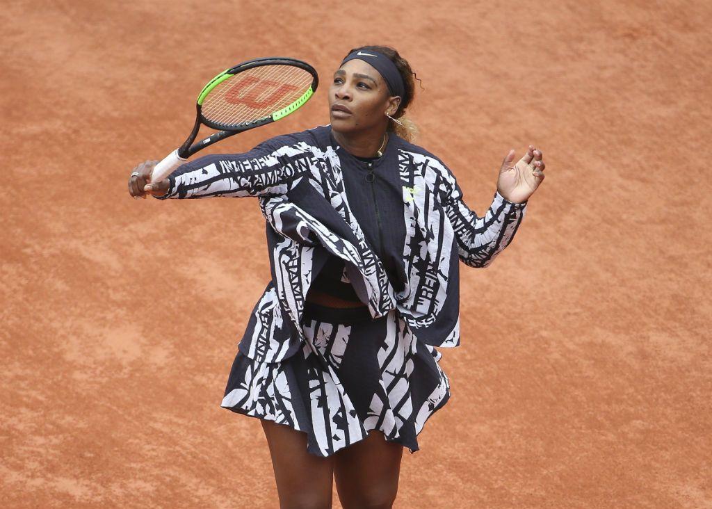 Serena Williams a francia nyílt teniszbajnokságon
