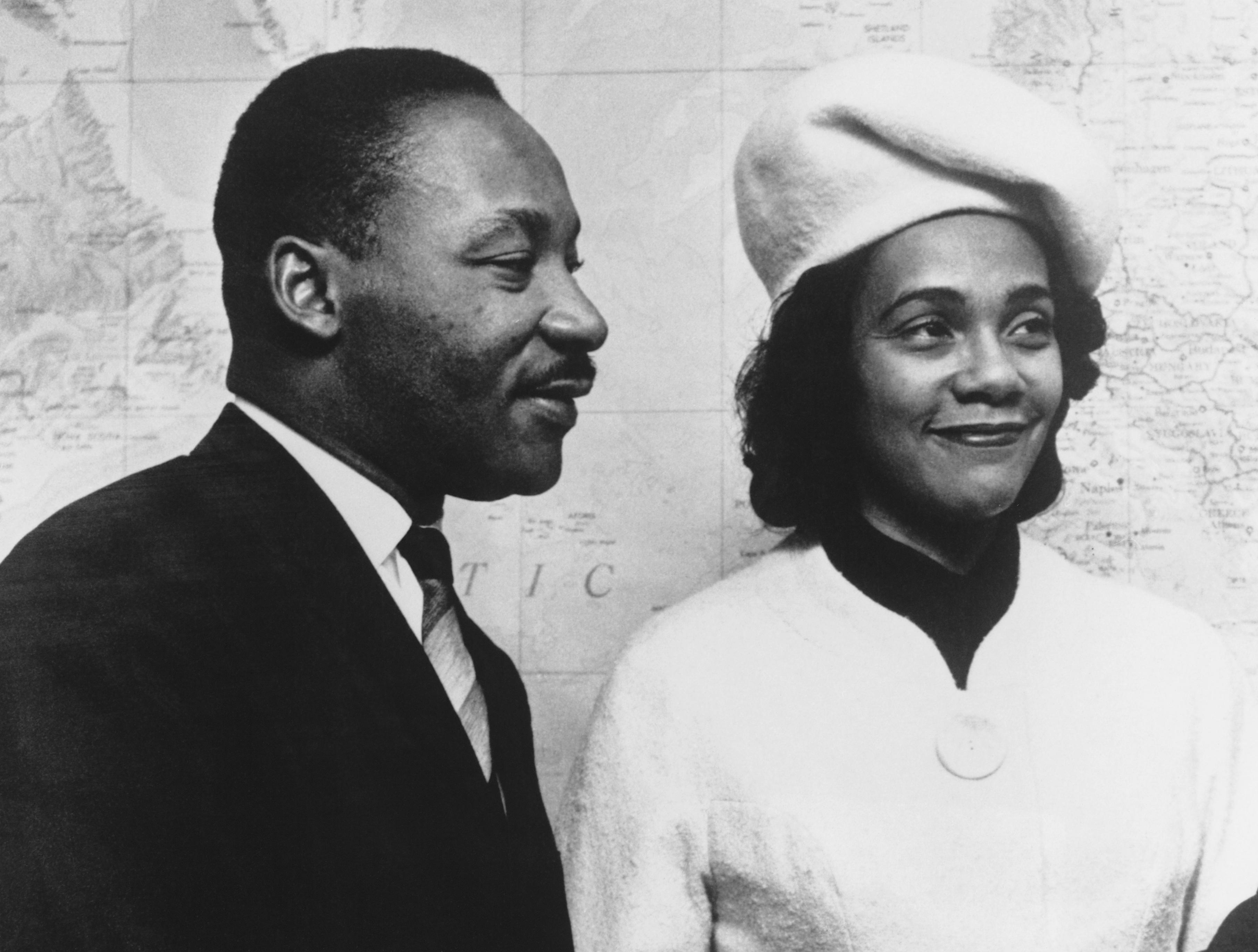 Martin Luther King és Correta Scott - Fotó: Getty Images