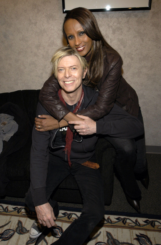 Iman és David Bowie - Fotó: Getty Images
