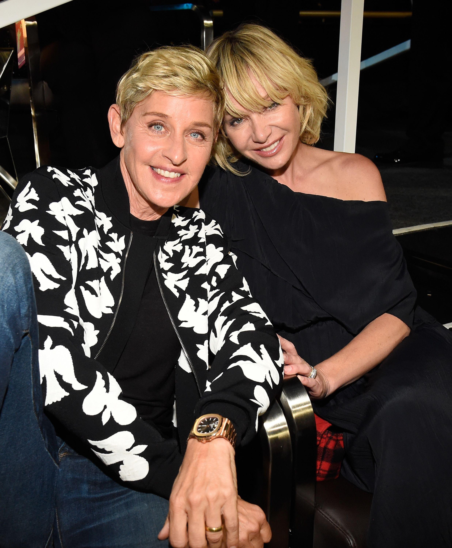 Ellen DeGeneres és Portia de Rossi - Fotó: Getty Images