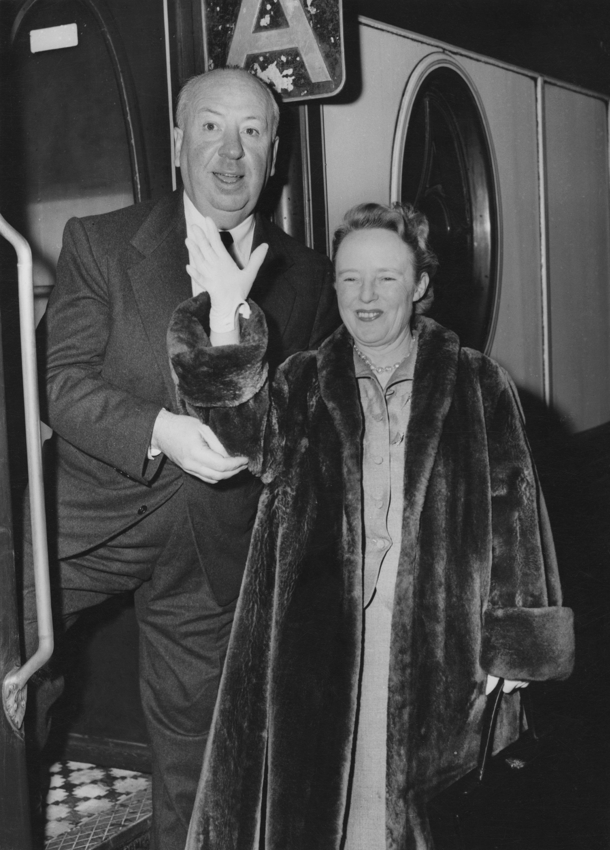 Alfred Hitchcock és felesége, Alma - Fotó: Getty Images