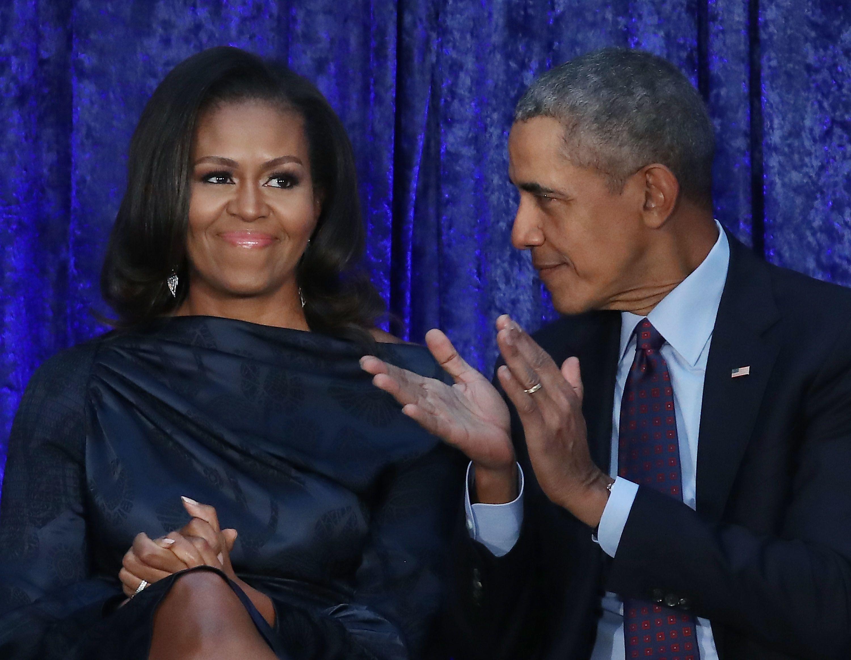 Michelle Obama és Barack Obama - Fotó: Getty Images